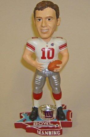 Eli Manning Giants Super Bowl 42 Bobblehead