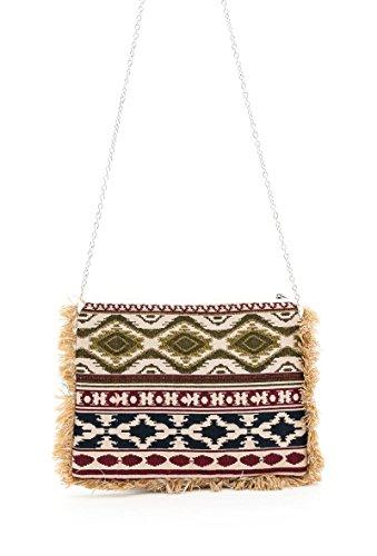 Mogano - Pochette À Deux Effets Aztèque / Folk Color : Multi