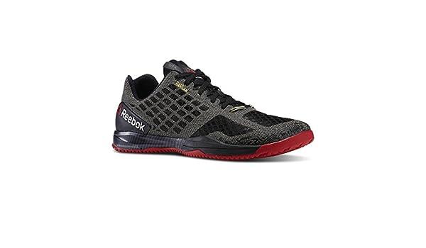 b0c2d42b179602 Reebok Crossfit Compete 6 14 Mens Training Shoe 9.5 Black-Excellent Red   Amazon.ca  Shoes   Handbags