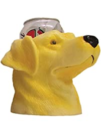 CIPA 63013 Yellow Lab Can Cooler with Double Insulated Wall