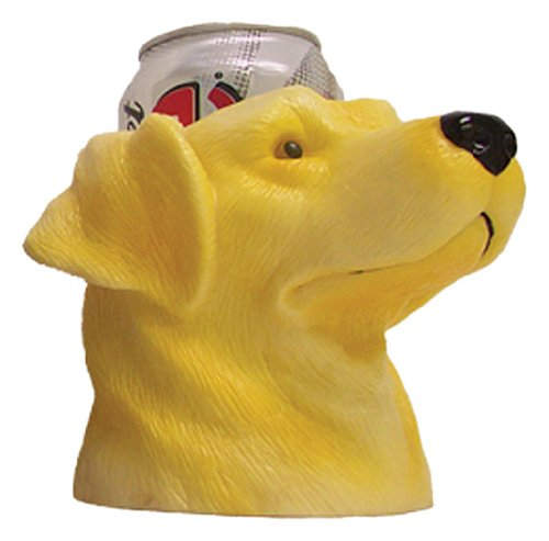 Cheap CIPA 63013 Yellow Lab Can Cooler with Double Insulated Wall