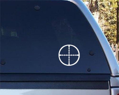 Crosshairs - Vinyl Decal - Car Phone Helmet - SELECT SIZE