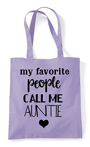 Favourite Me Call Tote People Family My Bag Shopper Lavender Auntie Statement d6qnOfwP