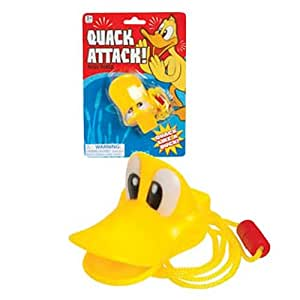 Quack Attack Duck Bill Noise Maker with Break-Free Lanyard
