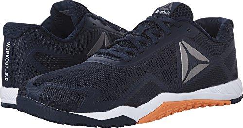 kout TR 2.0 Cross-Trainer Shoe, Collegiate Navy/Wild Orange, 11.5 M US (Cross Trainers Gym)