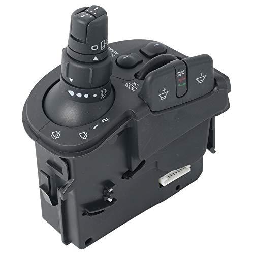 NovelBee Steering Column Switches 8201590631,Car Wiper Steering Stalk Indicator Switch Radio Control for Renault Clio Iii Kangoo