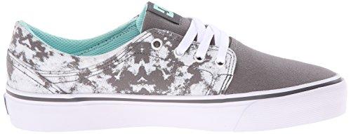 Black DC Shoe White SE Skate TX Trase Grey Women's r7qwU0r