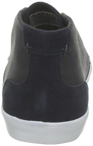 Boxfresh - Zapatos de cordones de caucho para hombre Azul (Bleu (Navy/White))