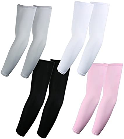 KEMFORD Arm Sleeve Cover White
