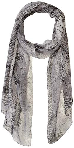 Collection XIIX Women's Python Scarf, Grey, One Size