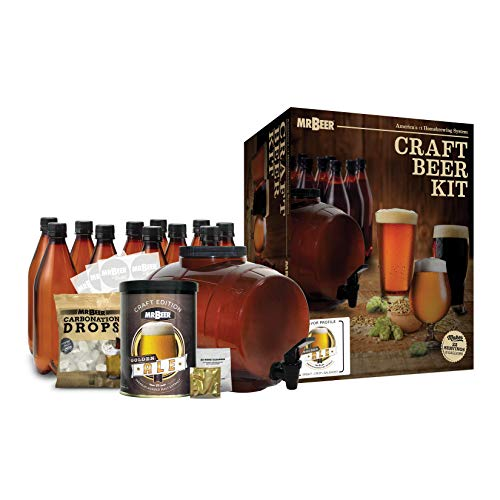 Mr. Beer 2 Gallon Complete Starter Beer Making Kit Perfect...