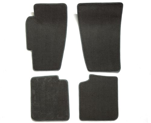 Nissan Xterra 4 Piece (Premier Custom Fit 4-piece Set Carpet Floor Mats for Nissan Xterra (Premium Nylon, Smoke))