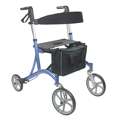 KosmoCare Premium Imported Folding Rollator Walker with Seat