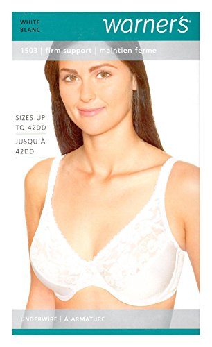White Firm Support Bras - 1