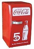 NEW Coca Cola Coke Mini Fridge Compact Personal Refrigerator...