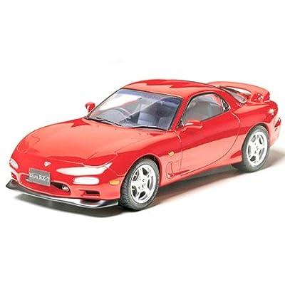 Tamiya Mazda RX-7 1/24 Scale Model Kit 24110: Toys & Games