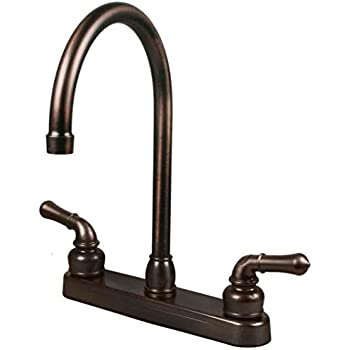 Inch High Rise Swivel Kitchen Faucet