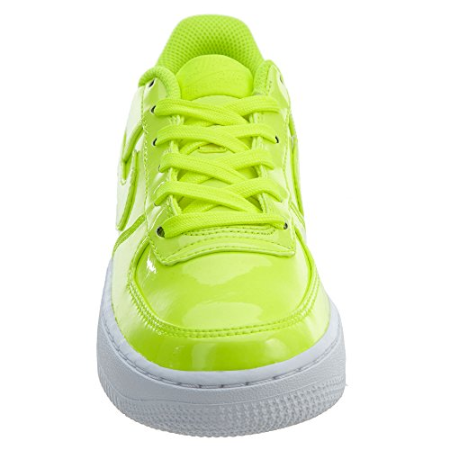 Nike AIR Force 1 LV8 UV (GS) Boys Basketball-Shoes AO2286-700_4Y - Volt/Volt-White-White by Nike (Image #5)
