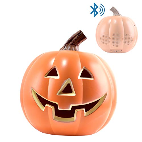 EpicXL PK100 Halloween Dancing Pumpkin - Bluetooth LED Lightup Speaker, Orange -