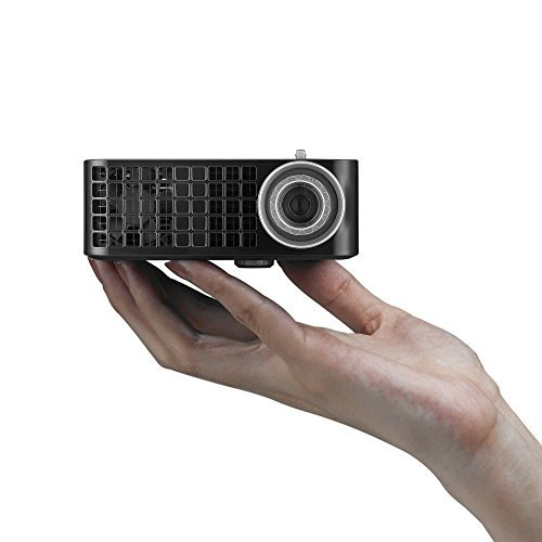 Dell M115HD Mobile LED Projector, WXGA 1280x800, HDMI USB Inputs, 1GB Internal Memory, 450 ANSI Lumens