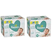 Pampers Baby Wipes Sensitive 12 count Pop-Top Packs, 672 Wipes