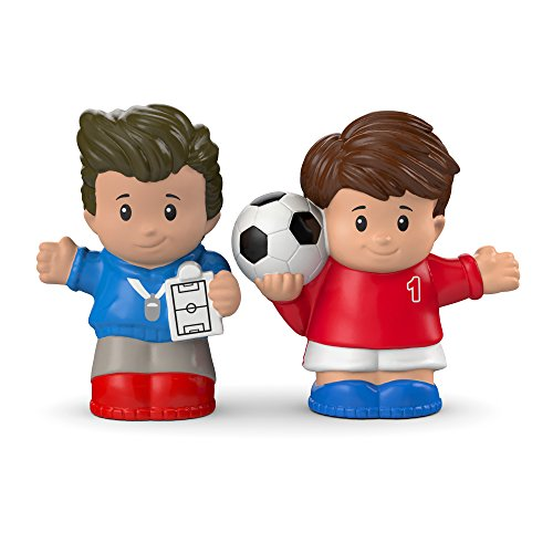 Fisher-Price Little People Soccer Player & Coach (Fisher Price Soccer)