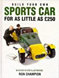 Build Your Own Sports Car for As Little As 250
