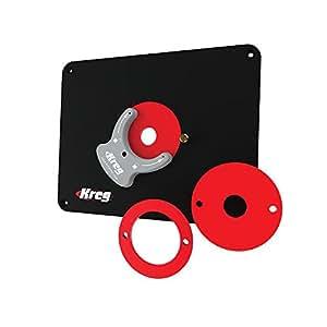 Kreg molded router table insert plate for porter cable routers kreg molded router table insert plate for porter cable routers greentooth Choice Image