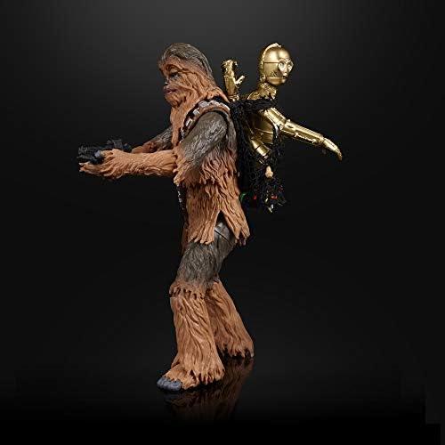 Conjunto de 4 Platos con Personajes Cl/ásicos de Star Wars Chewbacca C-3PO y Darth Vader R2-D2