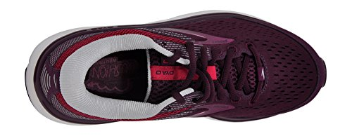 Donna pink Scarpe Running Viola 527 Da 10 grey purple Brooks Dyad X18xqRwO