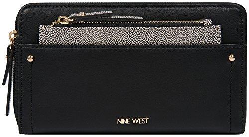 Nine West Nine West Zip Around Wallet with Pouch Wallet Wallet (Around Pouch Zip)