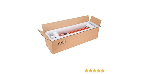 Propac z-box1002535 caja dos Olas Avana, 100 x 25 x 35 cm, paquete de 10: Amazon.es: Industria, empresas y ciencia