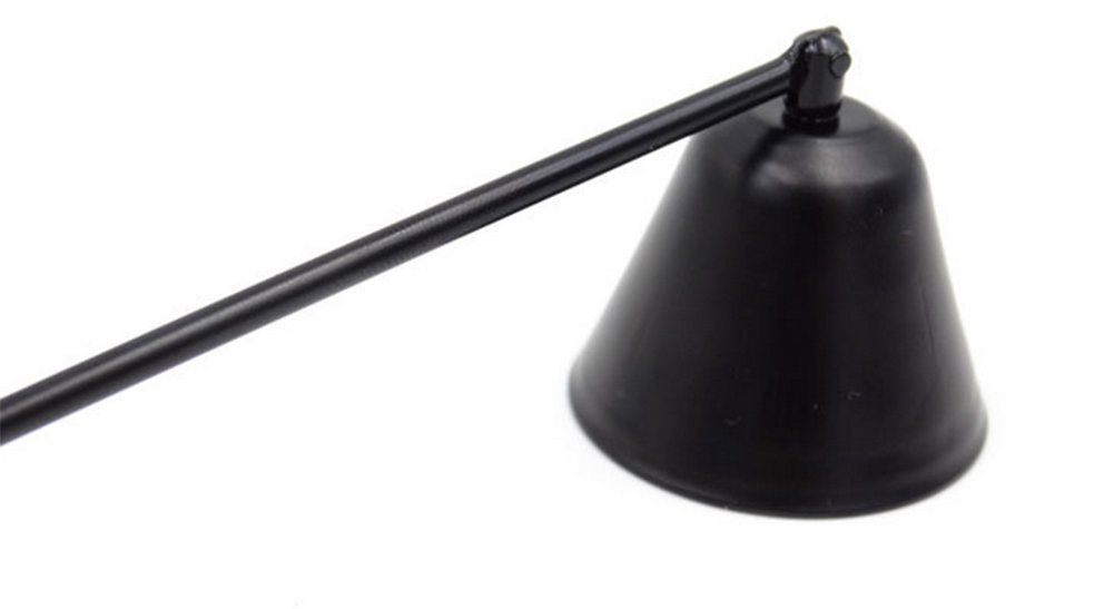 GESPOUT spegni candela in acciaio inox nero spegnimento della fiamma in tutta sicurezza strumento accessori per casa 21/cm