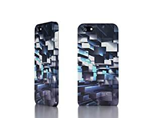 Apple iPhone 4 / 4S Case - The Best 3D Full Wrap iPhone Case - 3D_Geometric_Background