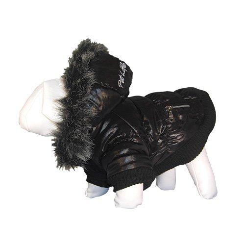 Pet Life Metallic Ski Parka Dog Jacket with Removable Hood – Size Small, My Pet Supplies