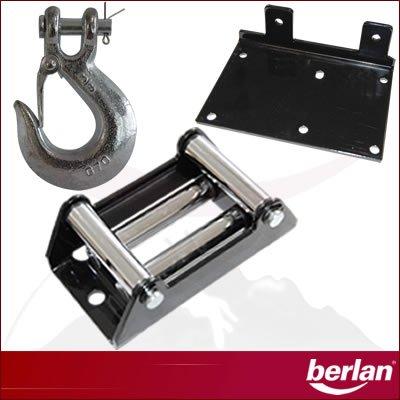 1360 kg Berlan Elektro Seilwinde BESW3000-12 Volt