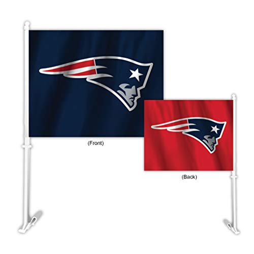 Fremont Die NFL New England Patriots Home & Away Car Flag