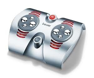 Beurer FM-38 - Zona de masaje para pies, 30 W, función calor, color plata
