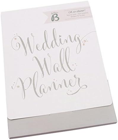 Busy B Bride to B Hochzeitsplaner zur Wandmontage
