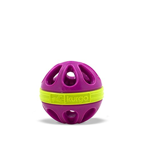 85%OFF Kurgo Dog Toy Mini Wapple(TM) Ball for Small Dogs, Just Violet Purple