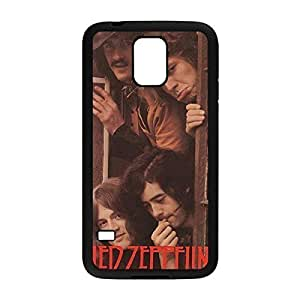 Laser Technology Led Zeppelin Custom Durable and Slim Plastic Case Cover for Samsung Galaxy S5 -Black030903