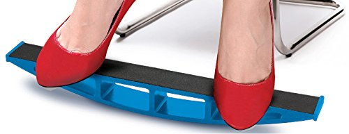 Rocking Leg Exerciser - Great for Office, Home & Travel by One & Only USA - Rock Ankle Exercise Board