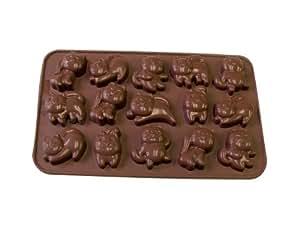 La Patisserie Chocolate Mould - Silicone - Cats