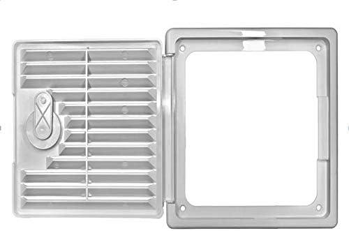 porte dinspection et grille da/ération Clapet de r/évision porte dinspection avec grille da/ération