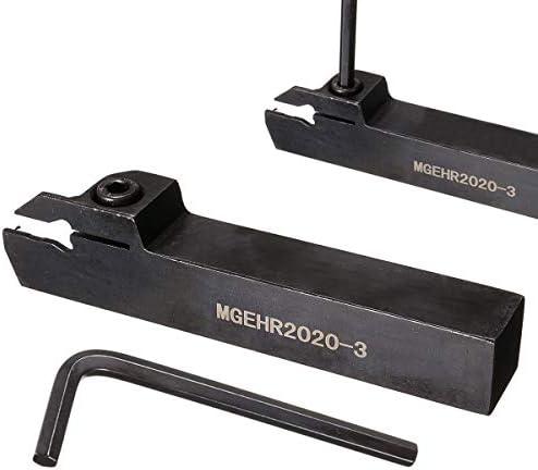 GENERICS LSB-Werkzeuge, MGEHR2020-3 Drehmaschine Außeneinstechen Borning Bar Drehwerkzeughalter mit Schraubenschlüssel Drehwerkzeug