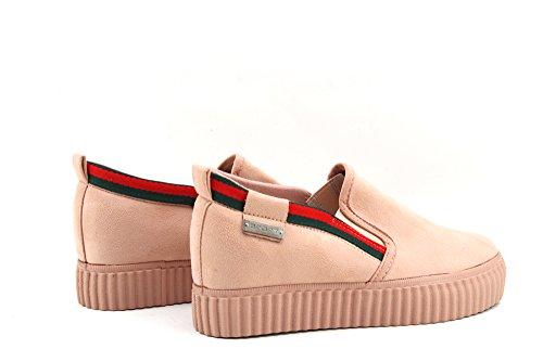 Modelisa - Zapatillas Elastico Mujer ROSA CLARO