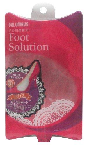 [해외]풋 솔루션 다리 안 지원 여성용 L 사이즈 24.0 ~ 25.0 cm / Foot Solution foot Support women`s L size 24.0-25.0 cm