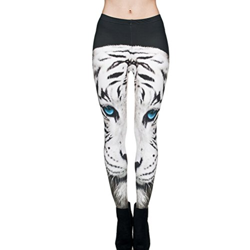 Tiger Yoga Pant (Super Stretchable Casual Pants Tiger Fitness Yoga Ankle Leggings)