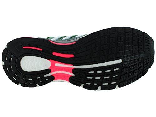 Adidas Des Femmes De Séquence Supernova 7 Chaussure De Course Vert / Blanc / Gris