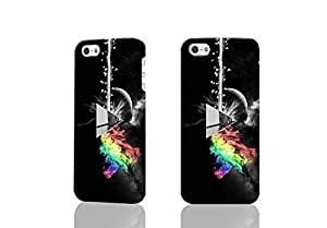 Pink Floyd Dark Side Of The Moon 3D Rough Case Skin, fashion design image custom , durable hard 3D case cover for iPhone 5 5S , Case New Design By Codystore